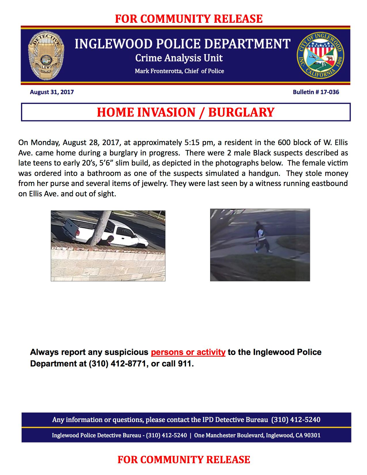 IPD 17-036 Community Bulletin