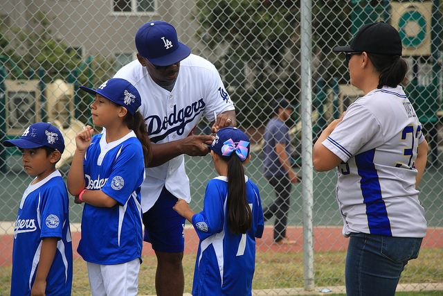 Dodgers Day at Darby Park Inglewood
