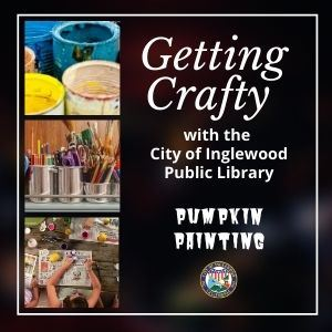 Getting Crafty with the City of IPL - Pumpkin Painting, icon Opens in new window